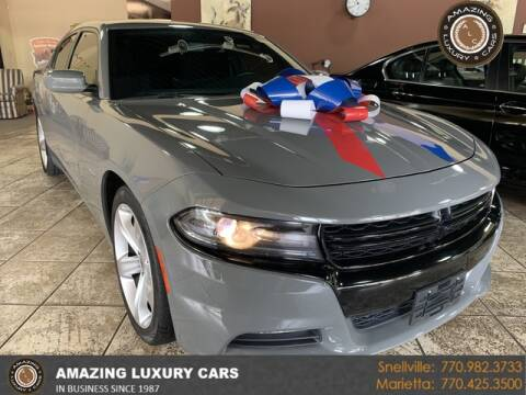 2018 Dodge Charger for sale at Amazing Luxury Cars in Snellville GA