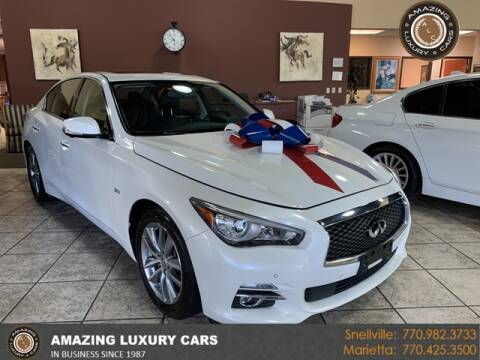 2017 Infiniti Q50 for sale at Amazing Luxury Cars in Snellville GA