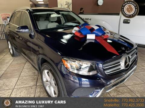 2017 Mercedes-Benz GLC for sale at Amazing Luxury Cars in Snellville GA