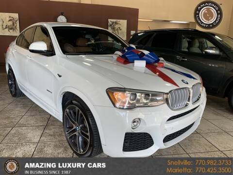 2017 BMW X4 for sale at Amazing Luxury Cars in Snellville GA