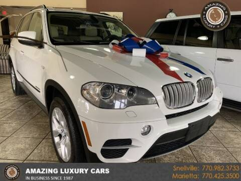 2013 BMW X5 for sale at Amazing Luxury Cars in Snellville GA