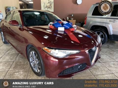 2017 Alfa Romeo Giulia for sale at Amazing Luxury Cars in Snellville GA