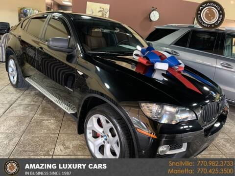 2014 BMW X6 for sale at Amazing Luxury Cars in Snellville GA