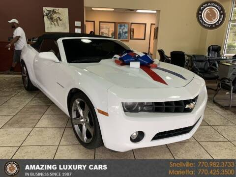 2013 Chevrolet Camaro for sale at Amazing Luxury Cars in Snellville GA