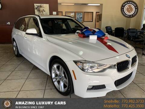 2017 BMW 3 Series for sale at Amazing Luxury Cars in Snellville GA