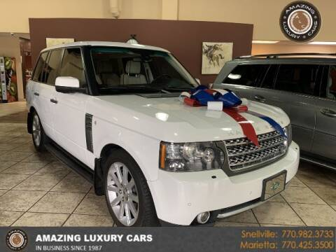 2011 Land Rover Range Rover for sale at Amazing Luxury Cars in Snellville GA