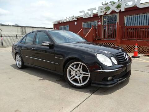 2006 Mercedes-Benz E-Class E 55 AMG for sale at R&T Expo in Houston TX