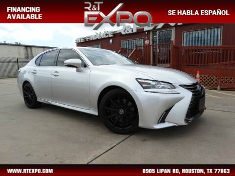 2016 Lexus GS 350 for sale at R&T Expo in Houston TX