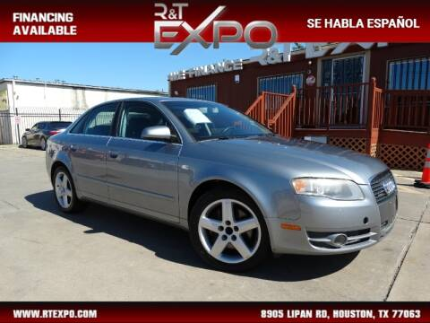 2005 Audi A4 2.0T quattro for sale at R&T Expo in Houston TX