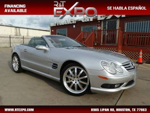2004 Mercedes-Benz SL-Class SL 55 AMG for sale at R&T Expo in Houston TX