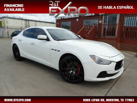 2015 Maserati Ghibli S Q4 for sale at R&T Expo in Houston TX