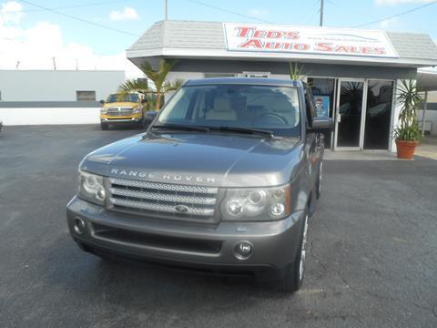 2007 Land Rover Range Rover Sport for sale in Saint Petersburg, FL