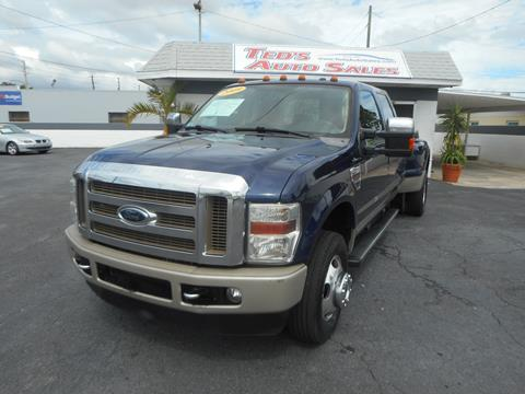 2009 Ford F-350 Super Duty for sale in Saint Petersburg, FL