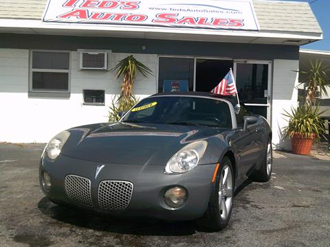 2008 Pontiac Solstice for sale in Saint Petersburg, FL