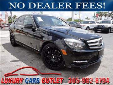 2011 Mercedes-Benz C-Class for sale in Hialeah, FL