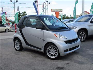 2012 Smart fortwo for sale in Hialeah, FL