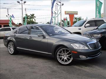 2007 Mercedes-Benz S-Class for sale in Hialeah, FL