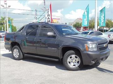 2011 Chevrolet Avalanche for sale in Hialeah, FL