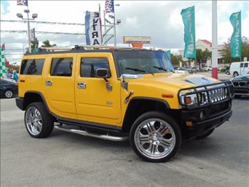 2004 HUMMER H2 for sale in Hialeah, FL