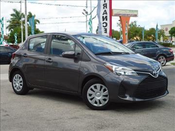 2015 Toyota Yaris for sale in Hialeah, FL