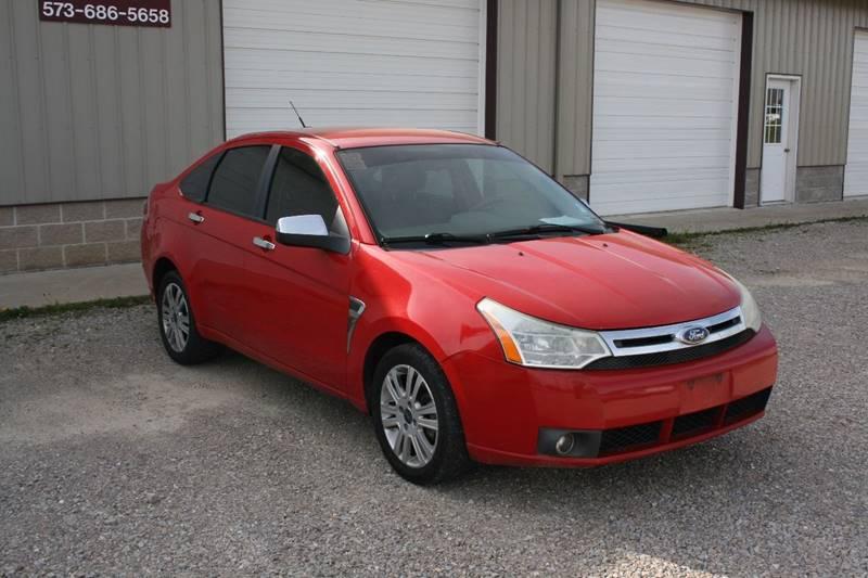 2008 Ford Focus SE 4dr Sedan - Poplar Bluff MO