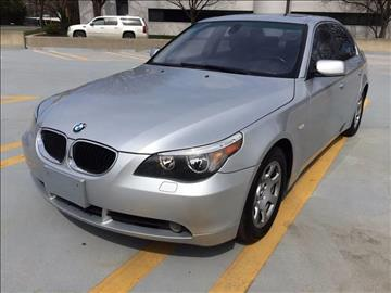 2004 BMW 5 Series for sale in Rockville MD