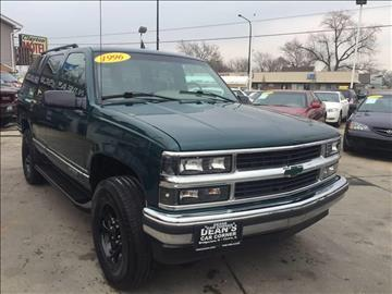 1996 Chevrolet Tahoe for sale in Bridgeview, IL