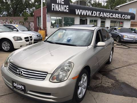 2004 Infiniti G35 for sale in Bridgeview, IL