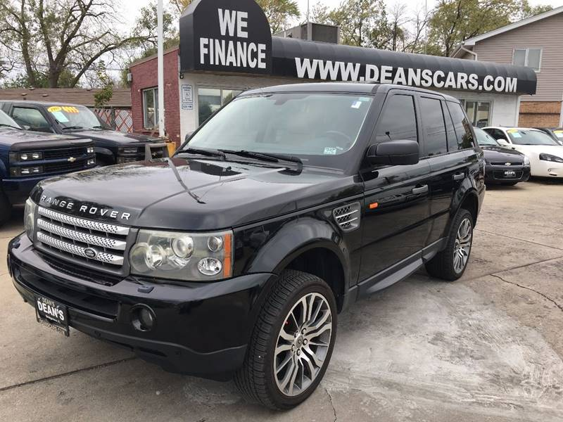 2007 land rover range rover sport supercharged 4dr suv 4wd in bridgeview il dean 39 s 7258 harlem. Black Bedroom Furniture Sets. Home Design Ideas