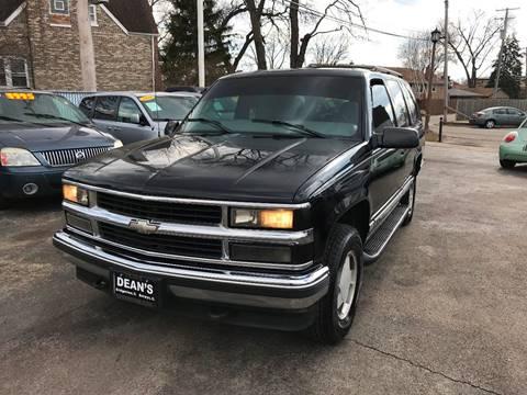 1998 Chevrolet Tahoe For Sale In Bridgeview IL