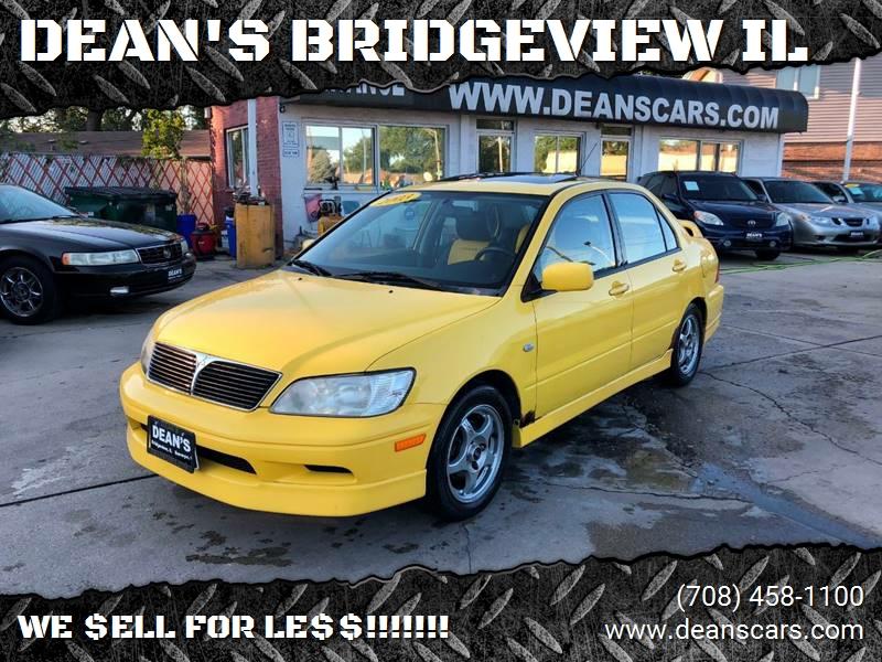 2003 mitsubishi lancer o-z rally 4dr sedan in bridgeview il - dean's