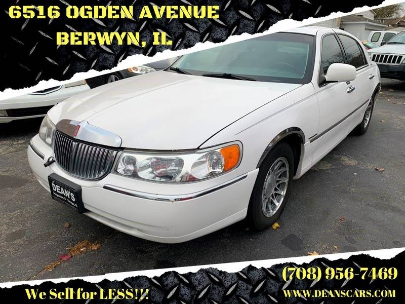 2001 Lincoln Town Car Signature 4dr Sedan In Bridgeview Il Dean S