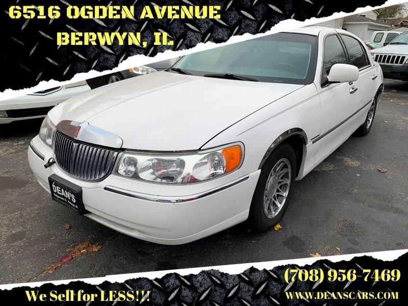 2001 Lincoln Town Car Signature 4dr Sedan In Bridgeview Il Dean S