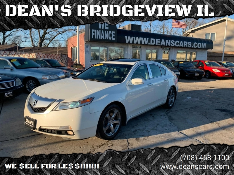 2010 acura tl 4dr sedan w technology package and 18 in wheels in bridgeview il dean 39 s. Black Bedroom Furniture Sets. Home Design Ideas