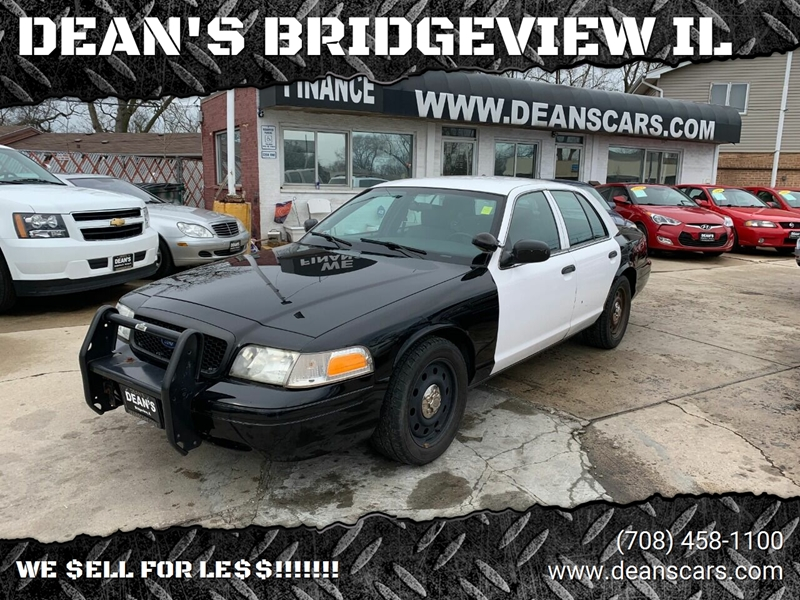 2009 Ford Crown Victoria Police Interceptor w/Street Appearance