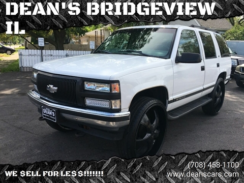 1998 Chevrolet Tahoe for sale in Bridgeview, IL