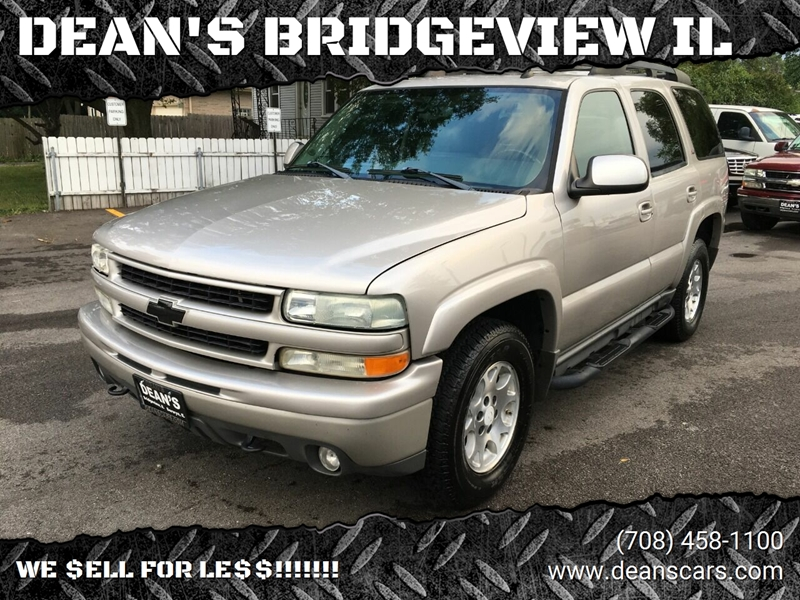 2005 Chevrolet Tahoe Z71 4wd 4dr Suv In Bridgeview Il