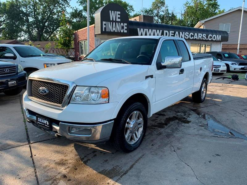 2005 Ford F-150 4dr SuperCab Lariat Rwd Styleside 6 5 ft  SB