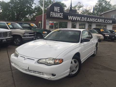 2000 Chevrolet Monte Carlo for sale in Bridgeview, IL