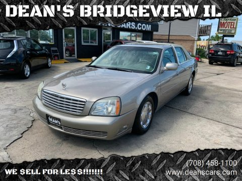 2004 Cadillac DeVille for sale at DEANSCARS.COM in Bridgeview IL