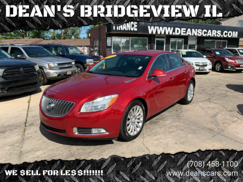 2013 Buick Regal for sale at DEANSCARS.COM in Bridgeview IL