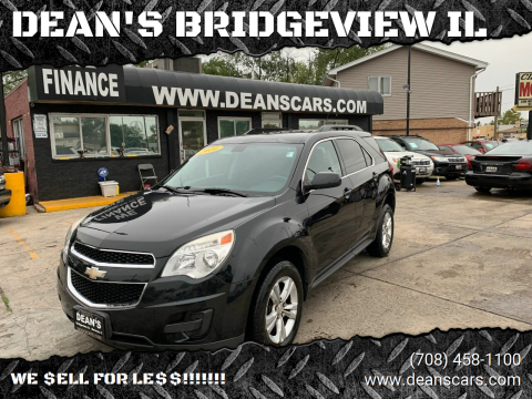 2010 Chevrolet Equinox for sale at DEANSCARS.COM in Bridgeview IL