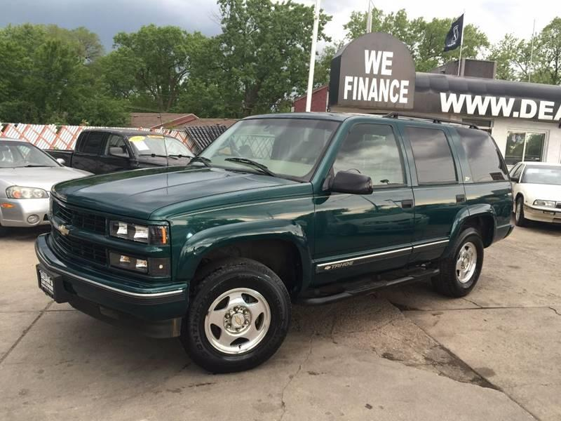 Chevrolet Tahoe Limited Suv In Bridgeview Il