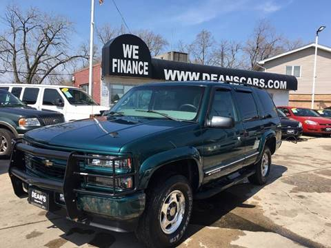 2000 Chevrolet Tahoe For Sale  Carsforsalecom