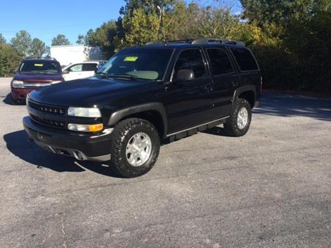 2003 Chevrolet Tahoe for sale in Gray Court, SC