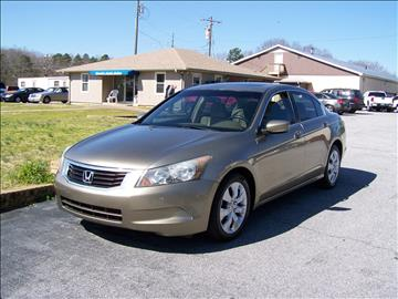 2008 Honda Accord for sale in Gray Court, SC