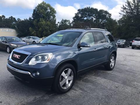 2012 GMC Acadia for sale in Gray Court, SC