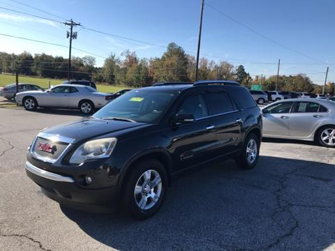 2008 GMC Acadia for sale in Gray Court, SC