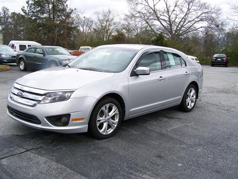 2012 Ford Fusion for sale in Gray Court, SC