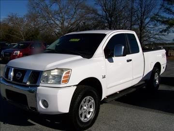 2004 Nissan Titan for sale in Gray Court, SC